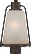 Nuvo 62-684 Tolland Mahogany Bronze LED Post Light Fixture