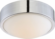 Nuvo 62-771 Perk Polished Nickel LED 9  Flush Mount Lighting Fixture