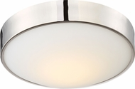 Nuvo 62-774 Perk Polished Nickel LED 13  Home Ceiling Lighting