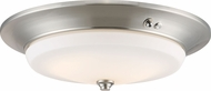 Nuvo 62-971 Brushed Nickel LED Ceiling Light Fixture