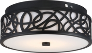 Nuvo 62-978 Aged Bronze LED Flush Mount Lighting Fixture