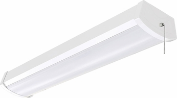 Nuvo 65-1091 Modern White LED Home Security Light
