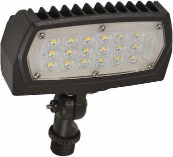 Nuvo 65-123 Modern Bronze LED Exterior Security Lighting Residential