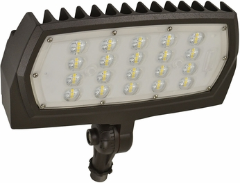 Nuvo 65-129 Modern Bronze LED Exterior Residential Security Lighting