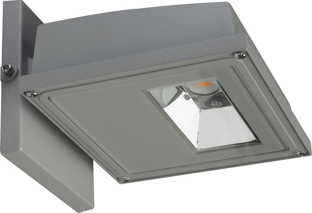 Gray Led Outdoor Flood Light Fixture