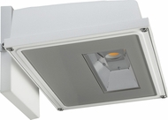 Nuvo 65-162 Modern White LED Exterior Flood Light Fixture