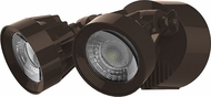 Nuvo 65-203 Contemporary Bronze LED Outdoor Flood Light Fixture