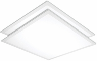 Nuvo 65-334 Modern White LED 24  Overhead Light Fixture (set of 2)