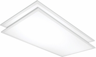 Nuvo 65-338 Modern White LED 42  Ceiling Light Fixture (set of 2)