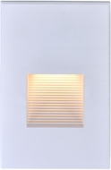 Nuvo 65-405 Contemporary White LED Outdoor Wall Mounted Lamp