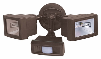Nuvo 76507 Exterior Flood Light 2 Lamp 15 Inches Wide