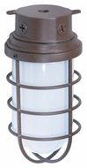 Nuvo 76627 Industrial Style Surface Mount Large Outdoor Ceiling Light Fixture - Old Bronze