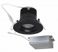 Nuvo S11625 Contemporary Black LED 3.5  Round Gimbal Direct Wire Recessed Light