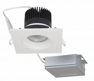 Nuvo S11627 Modern White LED 3.5  Square Gimbal Direct Wire Recessed Lighting Fixture