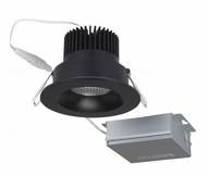Nuvo S11631 Contemporary Black LED 3.5  Round Downlight Direct Wire Recessed Light