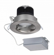 Nuvo S11632 Contemporary Brushed Nickel LED 3.5  Round Downlight Down Lighting