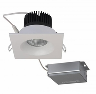 Nuvo S11633 Modern White LED 3.5  Square Downlight Direct Wire Recessed Lighting Fixture