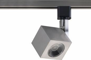 Nuvo TH467 Contemporary Brushed Nickel LED Track Lighting Fixture Head