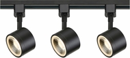 Nuvo TK404 Contemporary Black LED Track Light