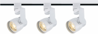 Nuvo TK423 Contemporary White LED Track Lighting