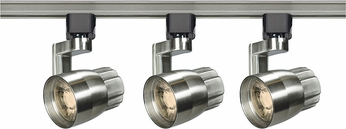 Nuvo TK427 Contemporary Brushed Nickel LED Track Lighting Fixture