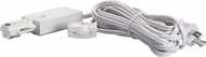 Nuvo TP156 Modern White Home Track Lighting Live End Cord Kit