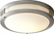 Oxygen 2-6109-24 Oracle Contemporary Satin Nickel 10.5  Ceiling Lighting