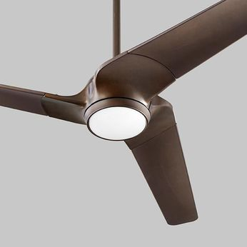 Oxygen 3-104-22 Sol Contemporary Oiled Bronze 56 Ceiling Fan