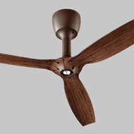 Oxygen 3-105-022 Alpha Oiled Bronze LED Home Ceiling Fan
