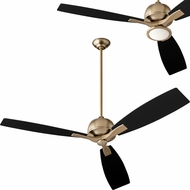 Oxygen 3-109-40 Juno Contemporary Aged Bronze LED 60 Home Ceiling Fan