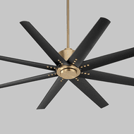 Oxygen 3-112-40 Fleet Modern Aged Brass Ceiling Fan