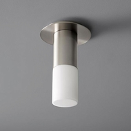 Oxygen 3-308-124 Pilar Contemporary Satin Nickel LED Ceiling Light Fixture