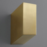 Oxygen 3-500-40 Uno Contemporary Aged Brass LED Wall Sconce Lighting