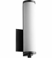 Oxygen 3-5000-15 Tempus Contemporary Black LED Wall Sconce Light
