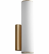 Oxygen 3-5010-40 Fugit Contemporary Aged Brass LED Wall Sconce Lighting