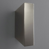 Oxygen 3-509-18 Duo Contemporary Gunmetal LED Sconce Lighting