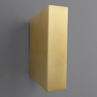 Oxygen 3-509-40 Duo Modern Aged Brass LED Lamp Sconce