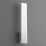 Oxygen 3-511-14 Icon Contemporary Polished Chrome LED Lighting Wall Sconce