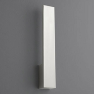 Oxygen 3-511-24 Icon Contemporary Satin Nickel LED Wall Sconce Lighting