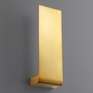 Oxygen 3-515-40 Halo Contemporary Aged Brass LED Wall Mounted Lamp