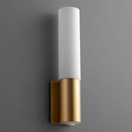 Oxygen 3-518-40 Magnum Contemporary Aged Brass LED Lighting Wall Sconce