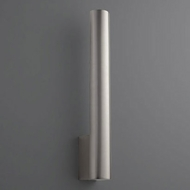 Oxygen 3-520-24 Mies Contemporary Satin Nickel LED Wall Light Sconce