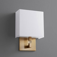 Oxygen 3-521-40 Chameleon Contemporary Aged Brass LED Wall Lighting