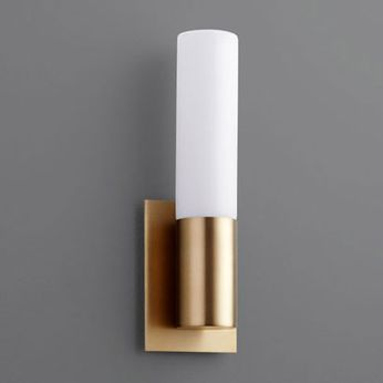 Oxygen 3-528-40 Magneta Contemporary Aged Brass LED Wall Lamp