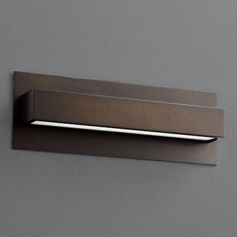 Oxygen 3-532-22 Alcor Contemporary Oiled Bronze LED Lighting Sconce