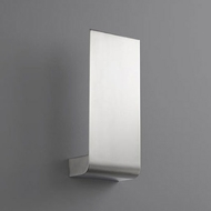 Oxygen 3-535-24 Halo Contemporary Satin Nickel LED Lighting Wall Sconce