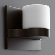 Oxygen 3-538-22 Olio Modern Oiled Bronze LED Wall Mounted Lamp