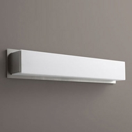 Oxygen 3-544-24 Fuse Contemporary Satin Nickel LED Bath Wall Sconce