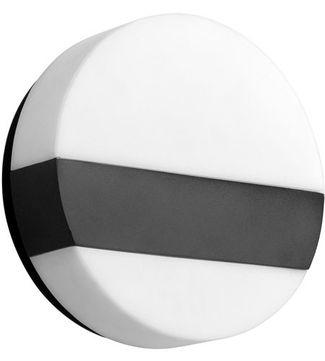 Oxygen 3-551-15 Aurora Contemporary Black LED Lighting Wall Sconce
