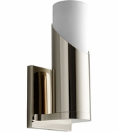 Oxygen 3-567-220 Ellipse Contemporary Polished Nickel LED Wall Lamp